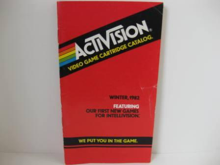 Activision Mini Game Catalog Winter 1982-Red - Atari 2600 Manual