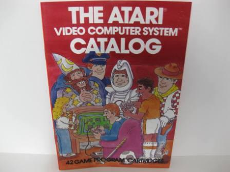 Atari 42 Game Catalog (Red) - Atari 2600 Manual