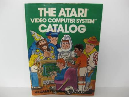 Atari 43 Game Catalog (Green) - Atari 2600 Manual