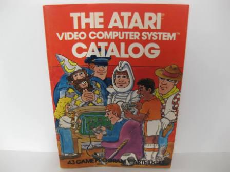 Atari 43 Game Catalog (Orange) - Atari 2600 Manual