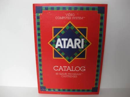 Atari 45 Game Catalog (Red) - Atari 2600 Manual