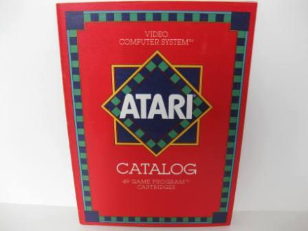 Atari 49 Game Catalog (Red) - Atari 2600 Manual