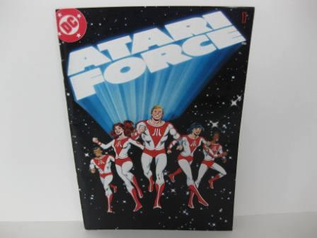 Atari Force DC Comic - Issue #1 - Atari 2600 Manual
