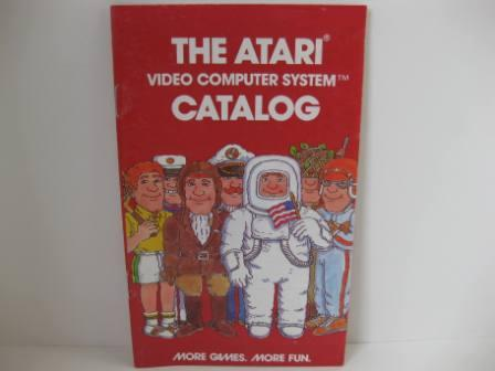 Atari Mini Game Catalog (Red) - Atari 2600 Manual