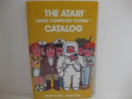 Atari Mini Game Catalog (Yellow) - Atari 2600 Manual
