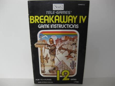 Breakaway IV - Atari 2600 Manual