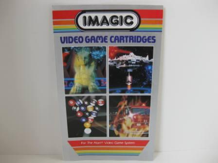 Imagic Mini Game Catalog (Grey) - Atari 2600 Manual
