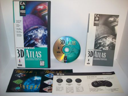 3D Atlas (CIB) - 3DO Game