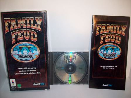 Family Feud (CIB) - 3DO Game