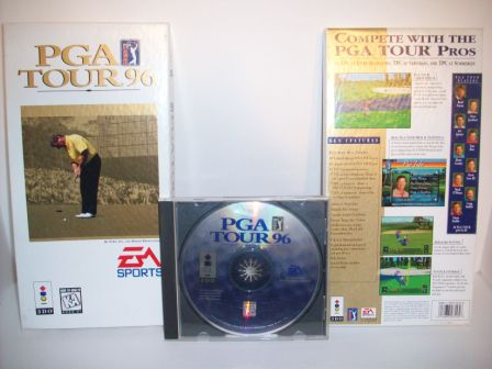 PGA Tour 96 (Boxed - no manual) - 3DO Game
