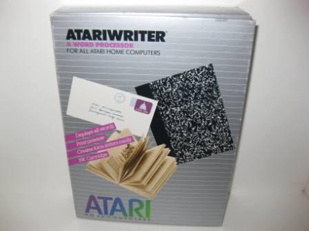 Atariwriter Word Processor w/ Drivers (CIB) - Atari 400/800 Game