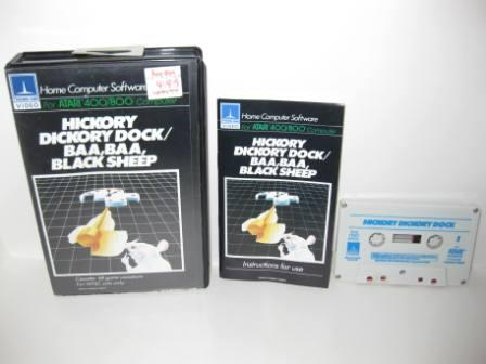 Hickory Dickory Dock/Sheep (Cassette) (CIB) - Atari 400/800 Game