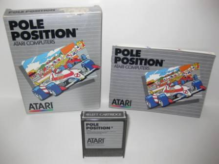 Pole Position (Cartridge) (CIB) - Atari 400/800 Game