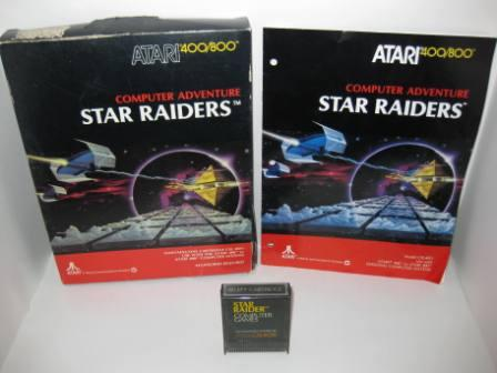 Star Raiders (Cartridge) (CIB) - Atari 400/800 Game