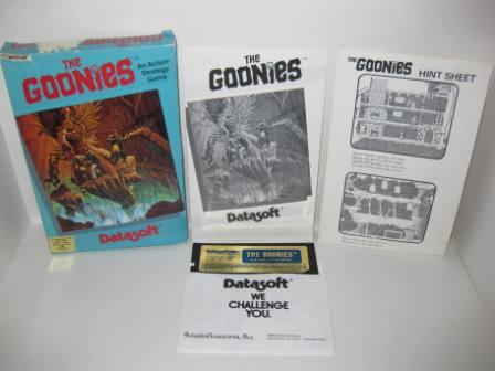 The Goonies (Diskette) (CIB) - Atari 400/800 Game