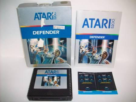 Defender (CIB) - Atari 5200 Game