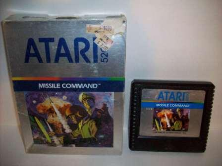 Missile Command (Boxed - no manual) - Atari 5200 Game