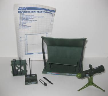 Bivouac Battlestation (1984) w/ Inst - G.I. Joe