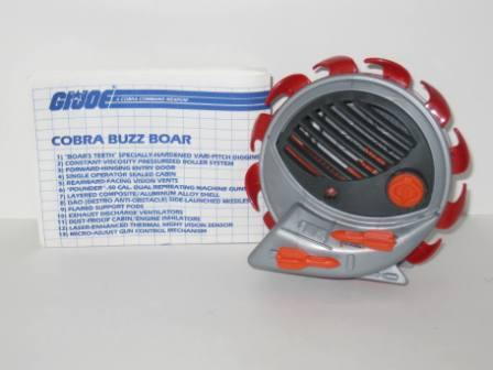 Cobra Buzz Boar (1987) w/ Inst - G.I. Joe