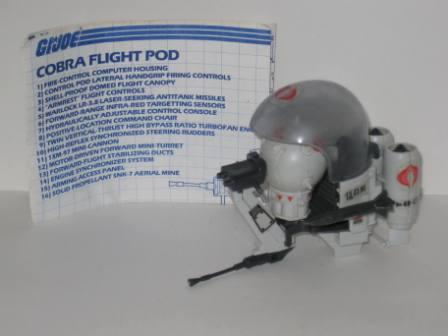 Cobra Flight Pod (1985) w/ Inst - G.I. Joe
