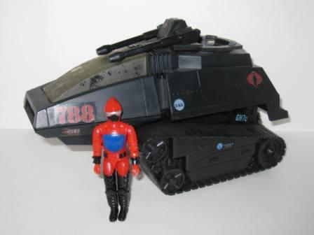 Cobra H.I.S.S. High Speed Sentry (1983) w/ Driver - G.I. Joe