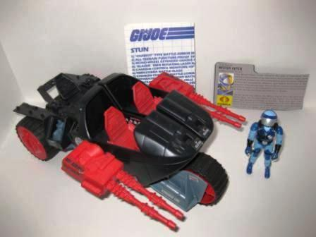 Cobra STUN (1986) w/ Inst, Driver, Card - G.I. Joe