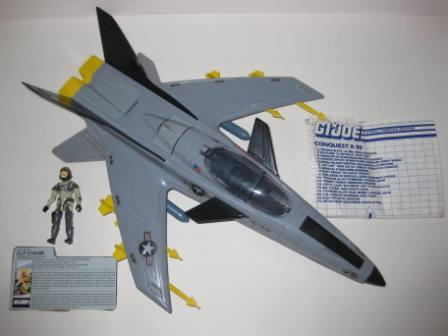 Conquest X-30 (1986) w/ Inst, Pilot, & Card - G.I. Joe