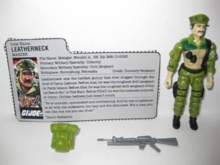 Leatherneck (1986) w/ Card - G.I. Joe