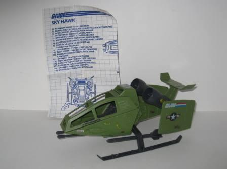 Sky Hawk (1984) w/ Inst - G.I. Joe
