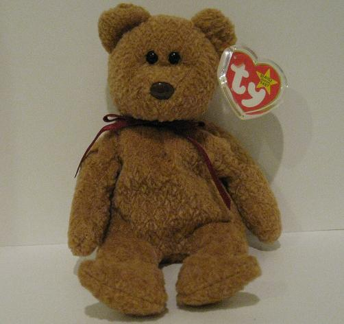 1f54223a5be Curly - Beanie Baby