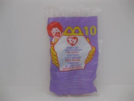 1999 McDonalds - #10 Stretchy - Teenie Beanie