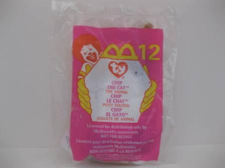 1999 McDonalds - #12 Chip (SEALED) - Teenie Beanie