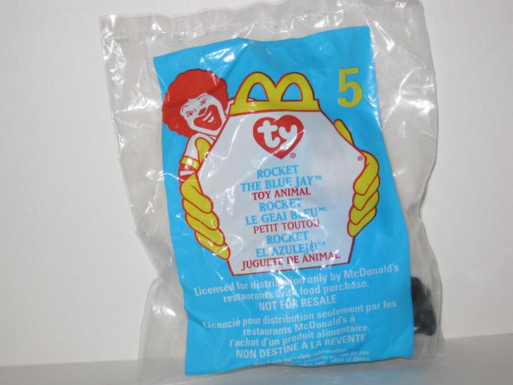 1999 McDonalds - #5 Rocket - Teenie Beanie