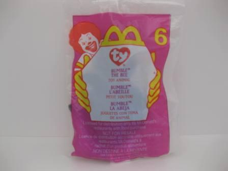 2000 McDonalds - #6 Bumble - Teenie Beanie