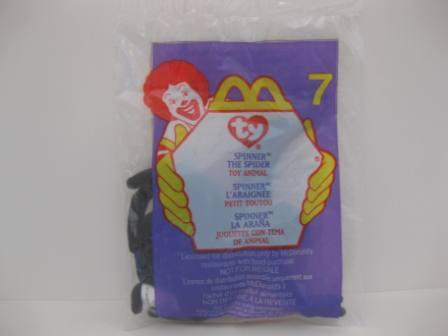 2000 McDonalds - #7 Spinner - Teenie Beanie