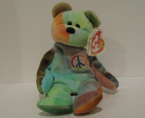 Peace (variation 1) - Beanie Baby