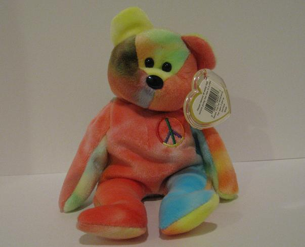 Peace (variation 2) - Beanie Baby