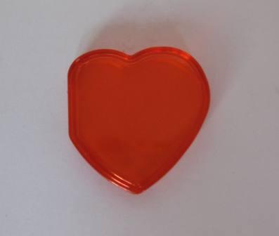 Beanie Baby Tag Cover (Red Heart)