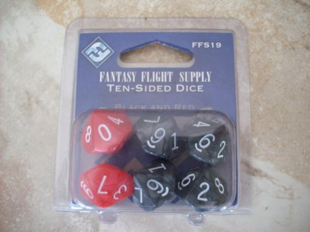 6 Ten-Sided Fantasy Dice (SEALED)