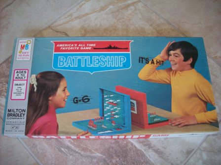 Battleship (1971) - Board Game