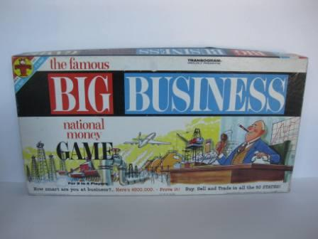Big Business (1964) - Board Game