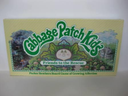 Cabbage Patch Kids: Friends to the Rescue (1984) - Board Game