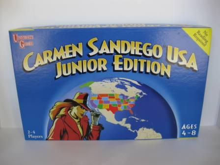 Carmen Sandiego USA Junior Edition (1998) - Board Game