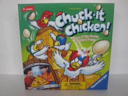 Chuck-It Chicken! (2006) (CIB) - Board Game