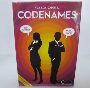 CodeNames (SEALED) - Board Game
