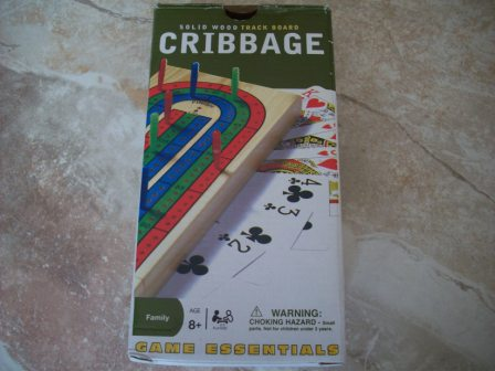 Cribbage Board - Solid Wood (2007) (CIB)