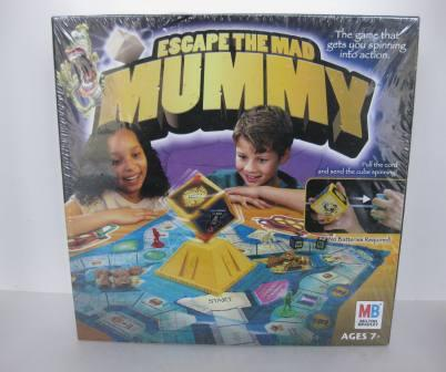 Escape the Mad Mummy (2004) (SEALED) - Board Game