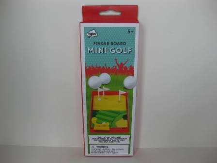 Finger Board Mini Golf (SEALED)
