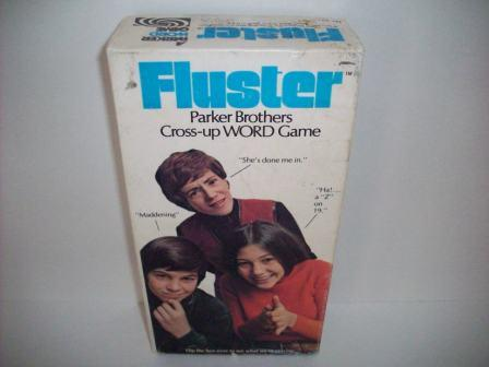 Fluster - Cross-Up Word Game (1973) - Board Game