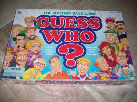 Guess Who (1998) - Board Game